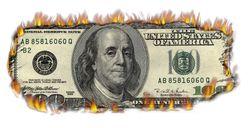 Money burns tight 100