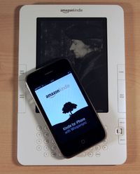 Kindle-and-iphone