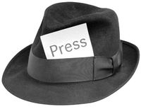 Hat with Press tag