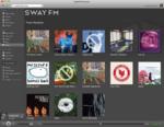 Swayfm screenshot