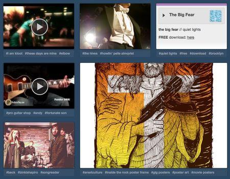Tumblr-music-page