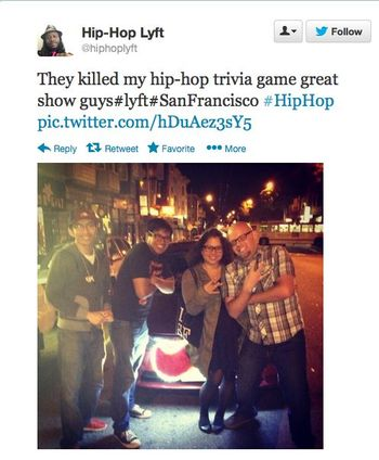 Hip-hop-lyft-fans