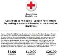 apple donate