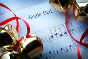 Christmas music jingle bells sheet