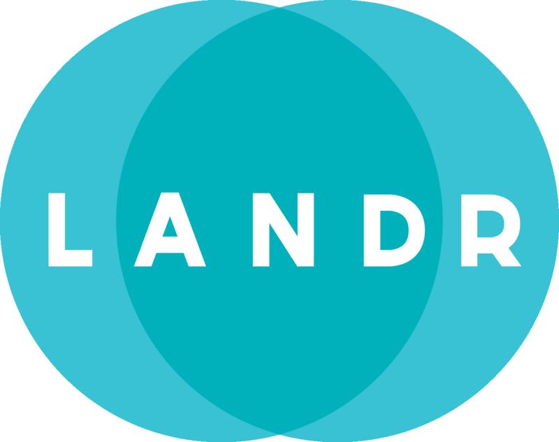 LANDR — logo 1C