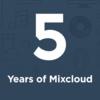 Mixcloud 5 years square image