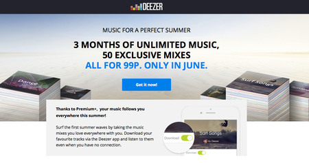 Deezer trial