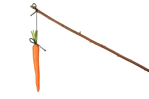 Carrots-and-sticks