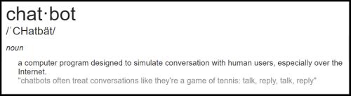 Chatbot definition