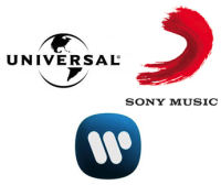 3 major labels
