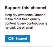 YouTube support 2