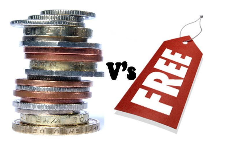 Paid-vs-free