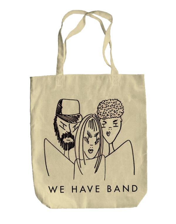 Cartoon-Cartoon-Band-Tote-Bag-Natural