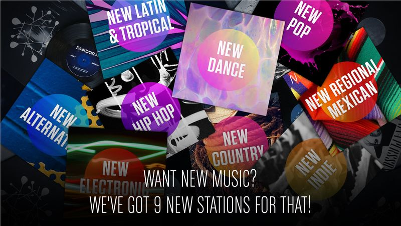 New Music Stations