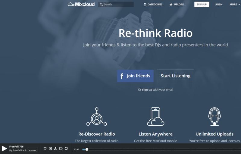 Mixcloud   Making radio better   Mixcloud