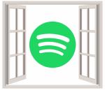Spotify window