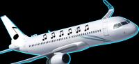 music plane