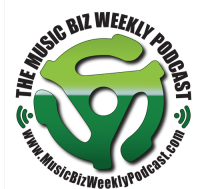 Musicbiz weekly podcast logo