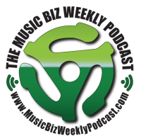 Musicbiz weekly podcast logo