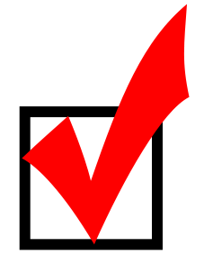 Red-checkmark