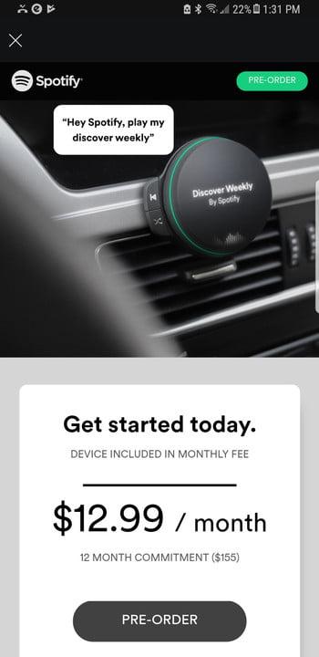 Spotify-car-player