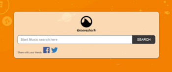GrooveShark.io   listen to music on demand at no charge