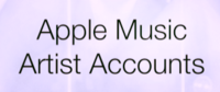 Apple Music Artist Accounts