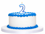 2 year cake