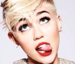 Miley Cyrus tongue