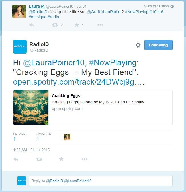 07 RadioID Tweet