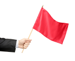 Red-flag-right