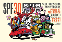 sub pop anniversary