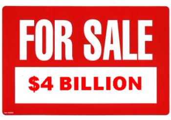 For Sale $4 Billion