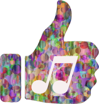 thumbs up music