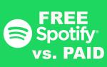 Spotify free vs paid