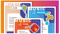Music Tectonics Trading Cards Capture Seismic Shifts in the Music Indu
